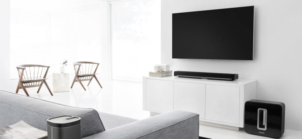 Tech Hampton Sonos Home Theater with Sub Woofer